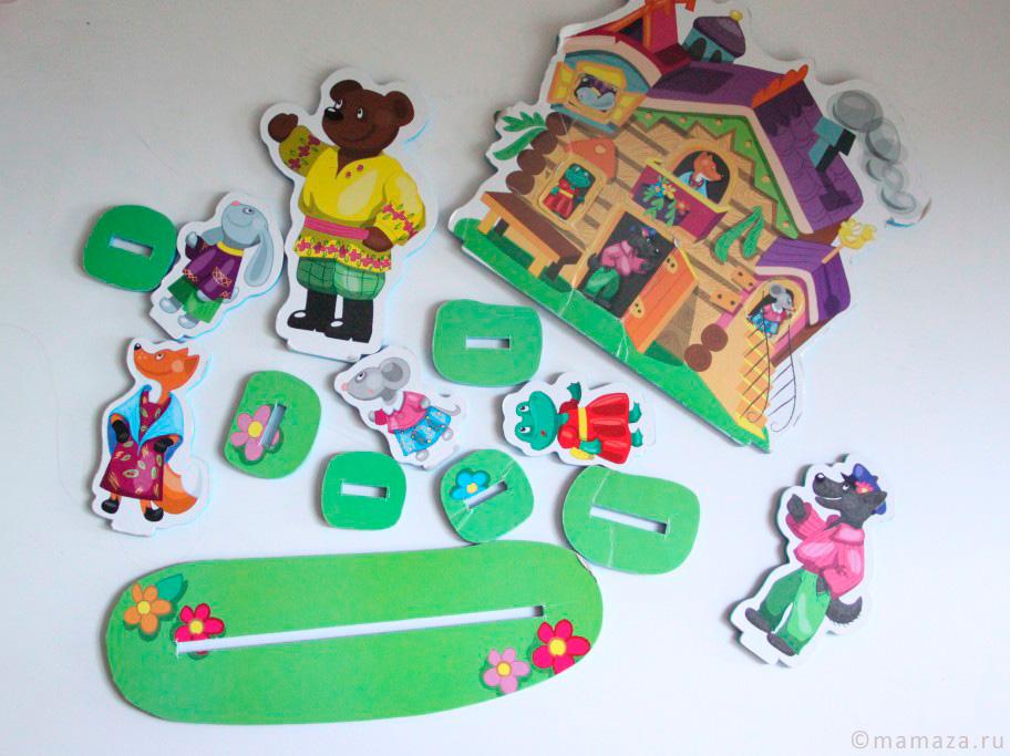 Кукольный театр на столе