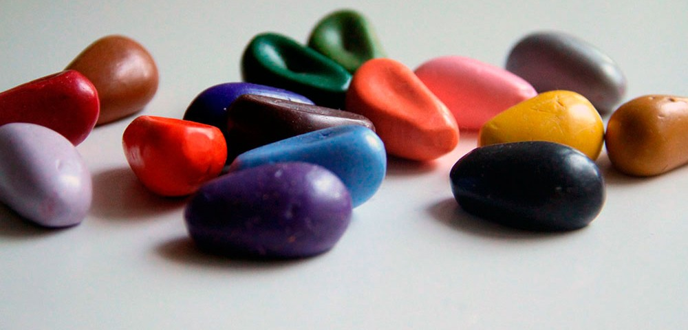 Мелки-камешки Crayon Rocks