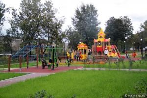 Детская площадка в сквере Воинов-Победителей