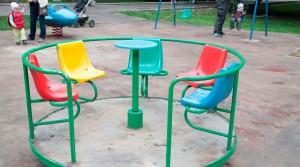 """Детские площадки и развлечения для детей в парке """"Лефортово"""""""