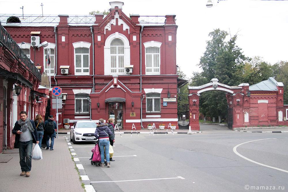 Детская площадка в парке 1 мая