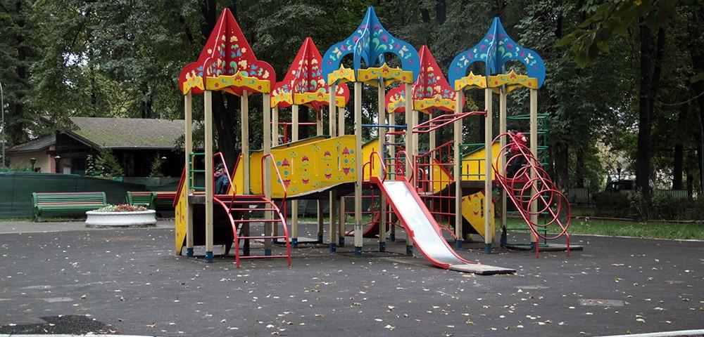 Детская площадка в парке имени 1 мая